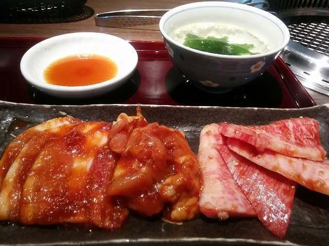 「 大河 」 大満足の焼肉ランチ 大河ランチ(和牛カルビ・豚バラ・鶏)
