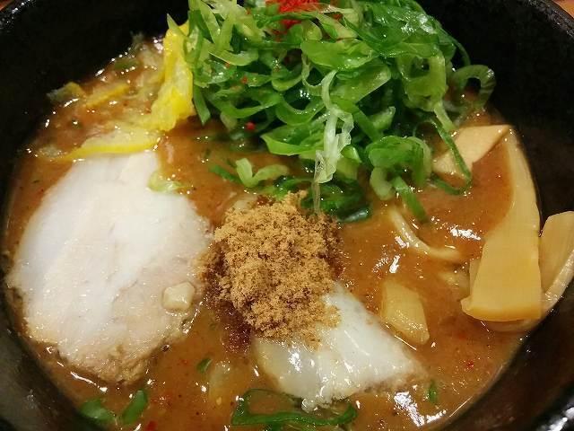 「 つけ麺 本丸 」 濃厚魚介つけ麺 がっつり系