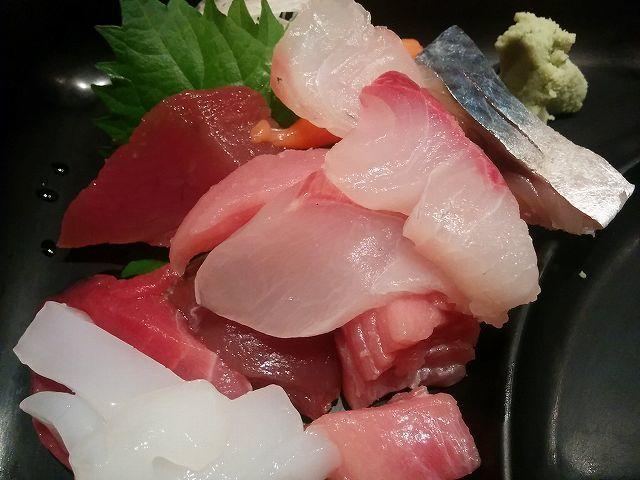 「 鮮魚 伊予 」 お刺身定食 美味しい