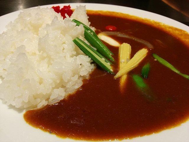 「 織部 」 飛騨牛入り7種類の野菜たっぷりのカレーライス