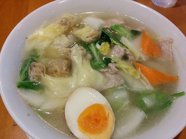 「 龍園 」 五目ワンタン麺 美味しい