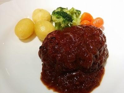 「 ルグラン 」 ハンバーグステーキ 横浜伝統の逸品