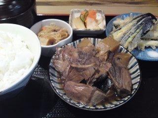 「 みやかみ 」 ぶり大根+わかさぎ天ぷら 割烹料理のランチ
