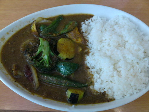 絶品の野菜カリー(横浜ベイクォーター)