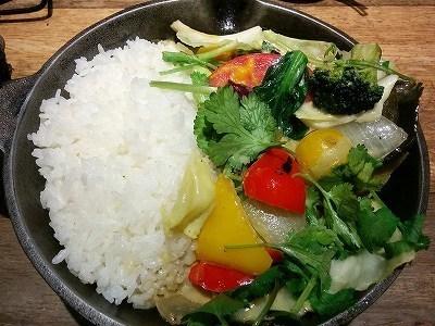「 campexpress 」 一日分の野菜カレー タイ風グリーンカレーバージョン