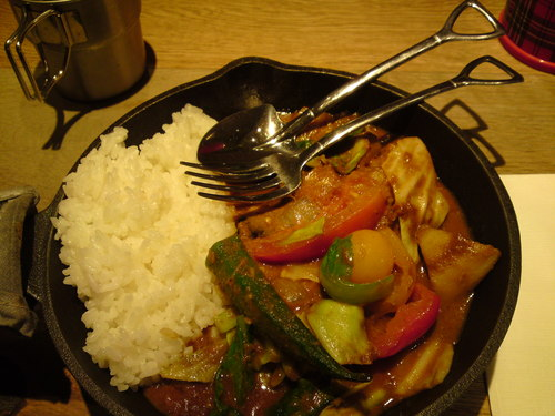 「 campexpress 」 野菜を食べるカレー ヘルシーでボリューミー