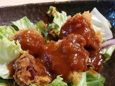 「 和來 」 八宝菜&牛のサイコロフライ 魅惑の日替わり定食