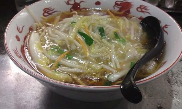 「 大龍 」 生馬麺(サンマーメン) 横浜伝統の味