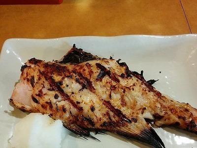「 松 」 あこう鯛の焼き魚 美味しくてリーズナブル!