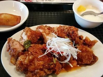 「 DORAGON酒家 」 油淋鶏 美味しい新メニュー