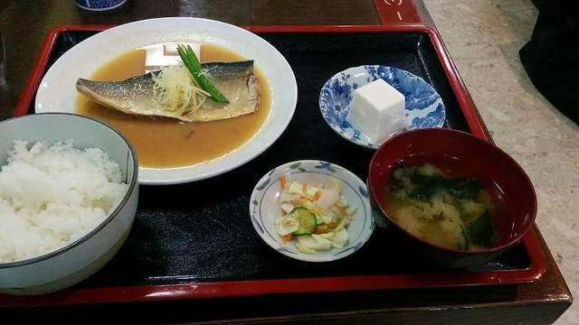 「 志摩 」 さばみそ 玉子・納豆サービス