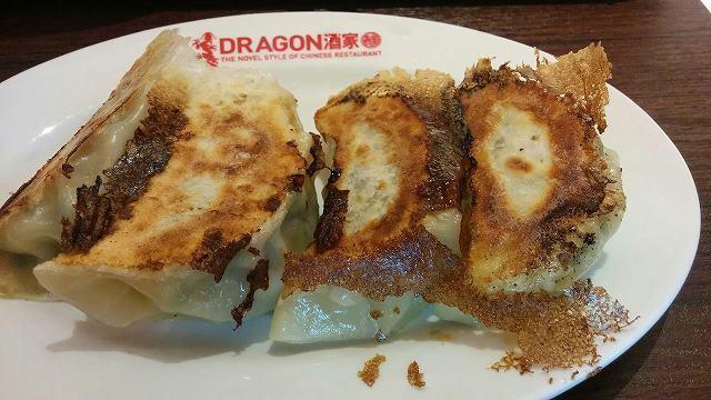 「 DORAGON酒家離 」 食べログNO.1餃子