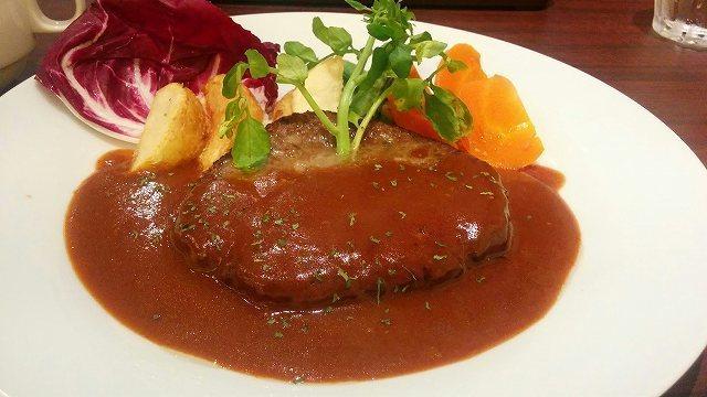 「 AmaOto 」 特製肉バルのハンバーグ お奨め!