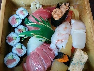 「 田舎鮨本陣 」 特上寿司 大きくて美味しいトロ