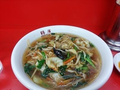 「 中華料理 鶴廣 」 美味しいサンマーメン ボリューム満点
