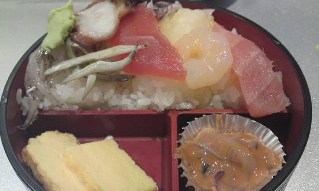 「 鮮 」 鮮丼 食べログワンコインサービス ちょっと!