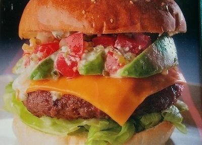 「 MALIBU 」  アボカドチーズバーガーランチ 一度は食べるべき逸品
