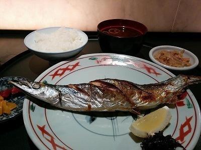 「 和互 」 秋刀魚の塩焼き 人気割烹料理店のランチ